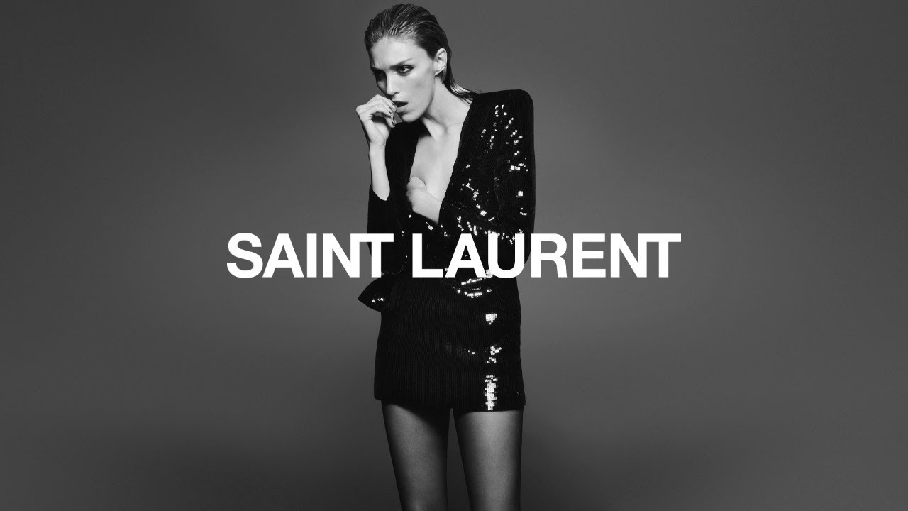 Image result for Anja Rubik for YSL Fall 19 photographed by David Sims