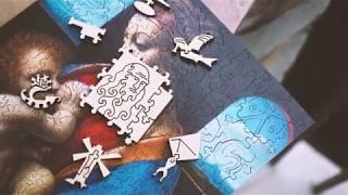"Деревянные пазлы DaVICI ""Мадонна Литта"""