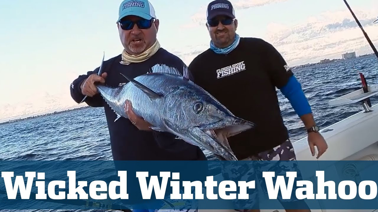 How to Catch Wicked Winter Wahoo Seminar - Florida Sport Fishing TV