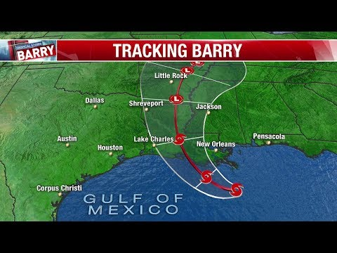 Dr. John Cooper - Tropical Storm Barry, Track the Strom - Everything You Need To Know