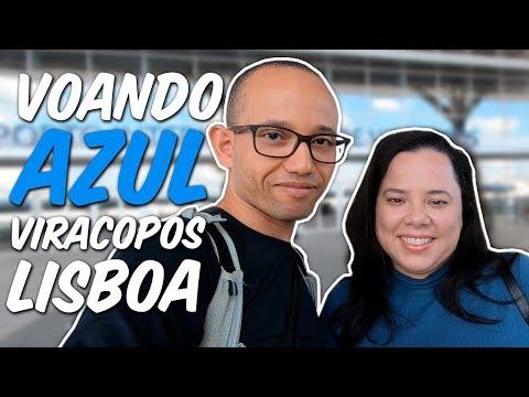Voando Azul: Viracopos (VCP) - Lisboa (LIS) - Portugal 1 de 6