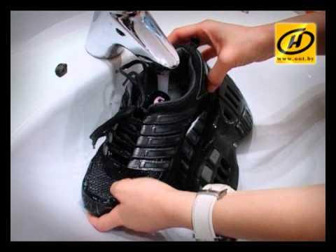 Учимся правильно стирать кроссовки