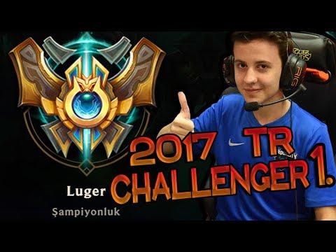 TR CHALLENGER BİRİNCİSİ LUGER'DEN...