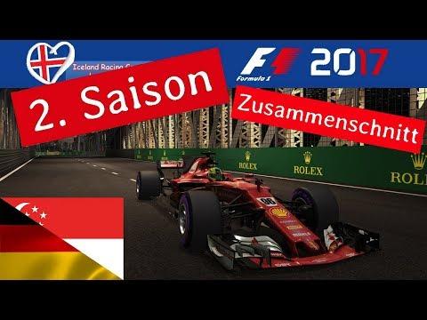 F1 2017 - Iceland-Racing-Group - Liga - 5. Rennen - Deutschland/ Singapur (Finale)
