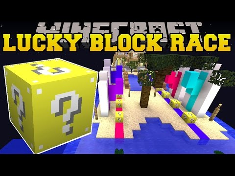 Minecraft: TROPICAL VACATION LUCKY BLOCK RACE - Lucky Block Mod - Modded Mini-Game