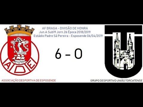 AD ESPOSENDE 6-0 UNIÃO TORCATENSE