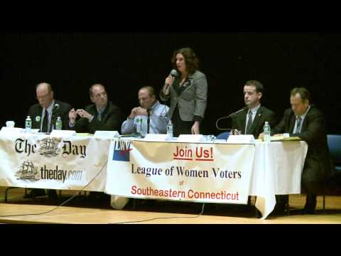 2011 New London mayoral candidates debate