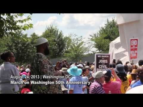 Alabama and North Carolina Kids at March on Washington Commemoration