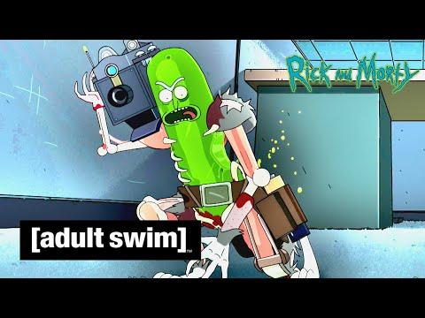 Adult Swim VF - Rick Et Morty 🇫🇷   Rickornichon [extrait S03E03]