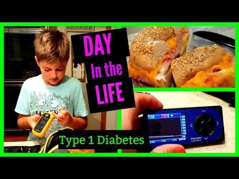 BAGELS! Day in the Life -Type 1 Diabetes