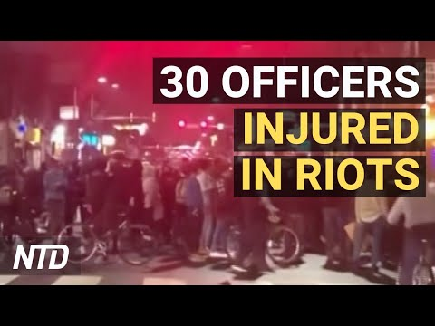 30 Officers Injured In Riots After Shooting; More Firms Fleeing China; 45 Missing Children Rescued