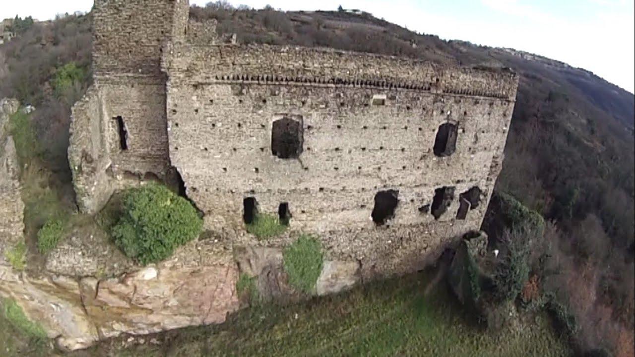 Drone et chateau de seyssuel pr s de vienne france youtube for Habitat de la vienne chatellerault