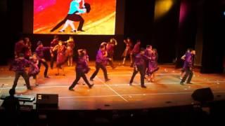 salsa dance  livina vida loca ricky martin ,holychild school panchkula