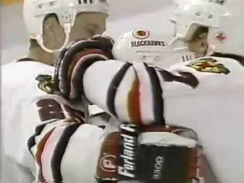 Steve Larmer Blackhawks Overtime Winner (Oct. 25, 1990)