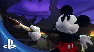 Disney Epic Mickey 2 on PS3 - YouTube