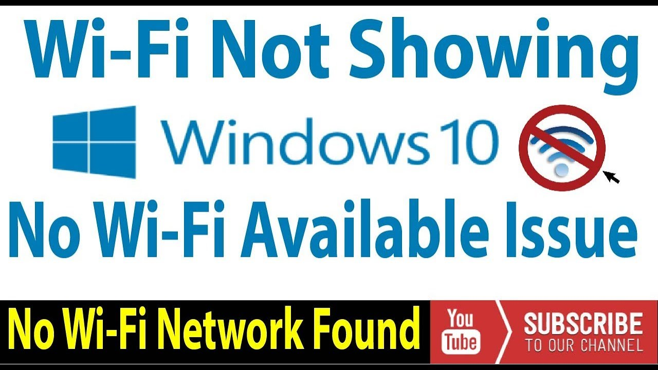 How to Fix no wifi networks found windows 10-2019 [4 Fixes]✔️