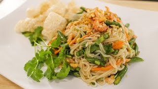 Rice Noodle Salad - Hot Thai Kitchen