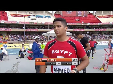 IAAF U18 World Championship 2017 - Nairobi - Hammer Throw Final
