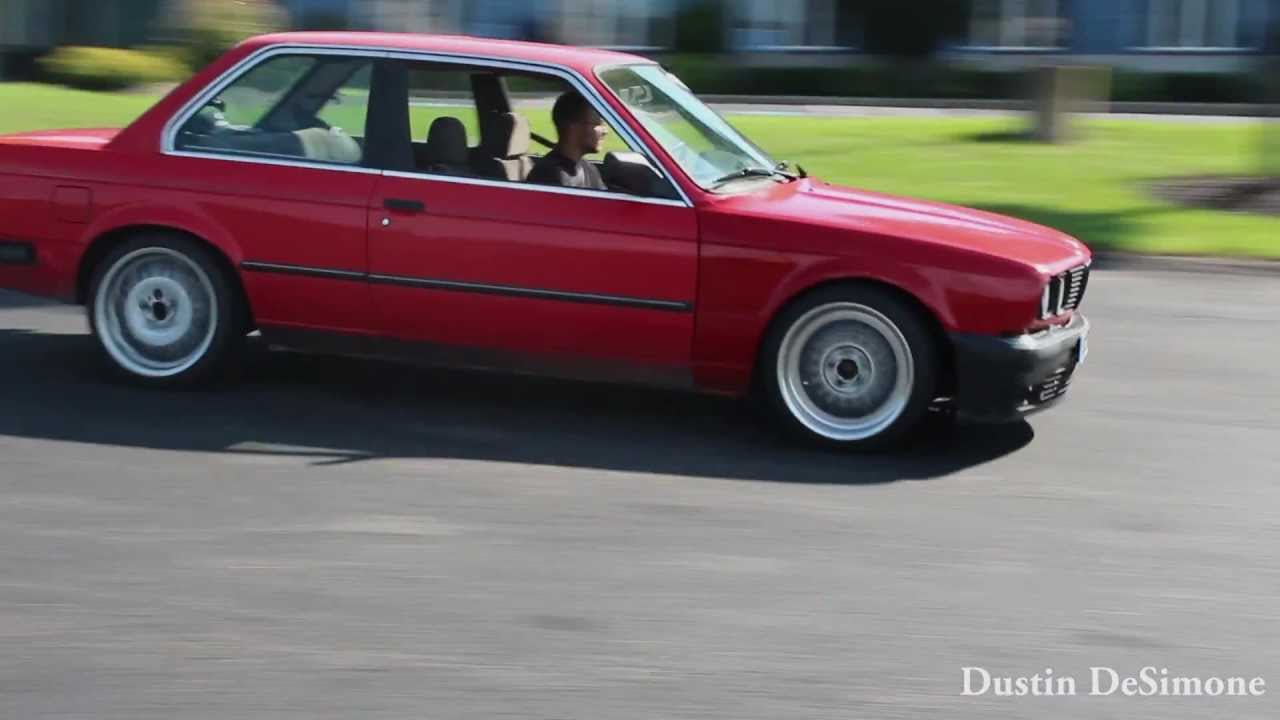E30 S50 Sliding Around 2016 10 27