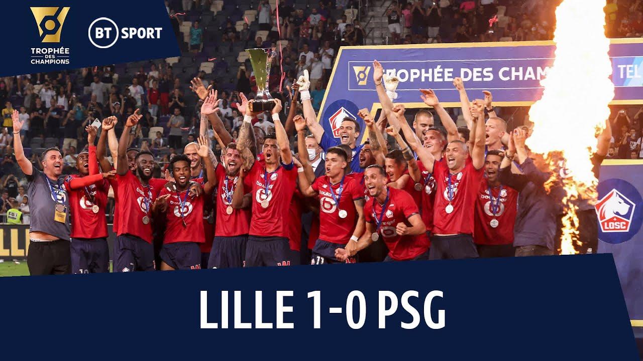 Lille vs PSG (1-0)   Les Dogues Make History! 🔴   Trophée Des Champions Highlights