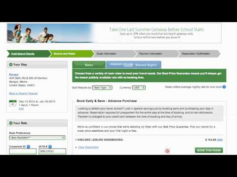 Holiday Inn Express Coupon Code 2013 - How to use Promo Codes and Coupons for HolidayInn.com