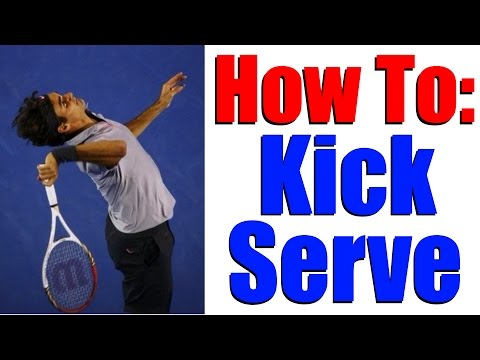 Thumbnail: How To Hit A Kick Serve - Tennis Lesson