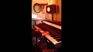 Lorenzo la rafale au piano