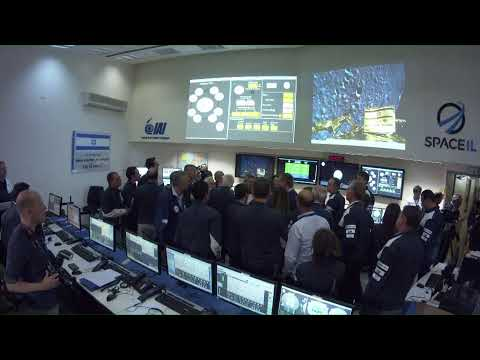 LIVE broadcast - Beresheet lands on the Moon  Fasten your seatbelts, we are about to land.