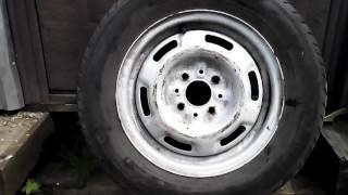 Как узнать размер и год резины авто