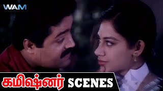 Commissioner Tamil Dubbed Movie Scenes | Politician Arrives From Abroad |Suresh Gopi| Ratheesh | WAM