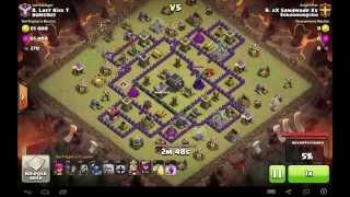 Clash of Clans 3 Star TH 9 GoWiPe (feat. xX Sandmade Xx)