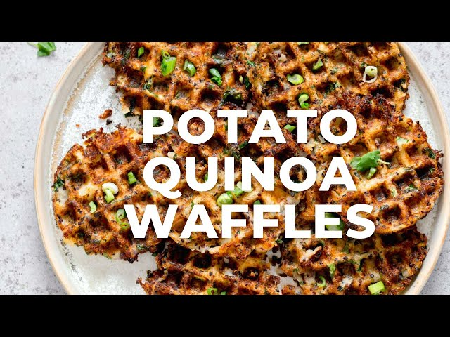 POTATO QUINOA WAFFLES | Vegan Richa Recipes