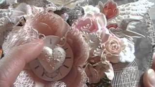 Shabby Chic Hanging Art Decor