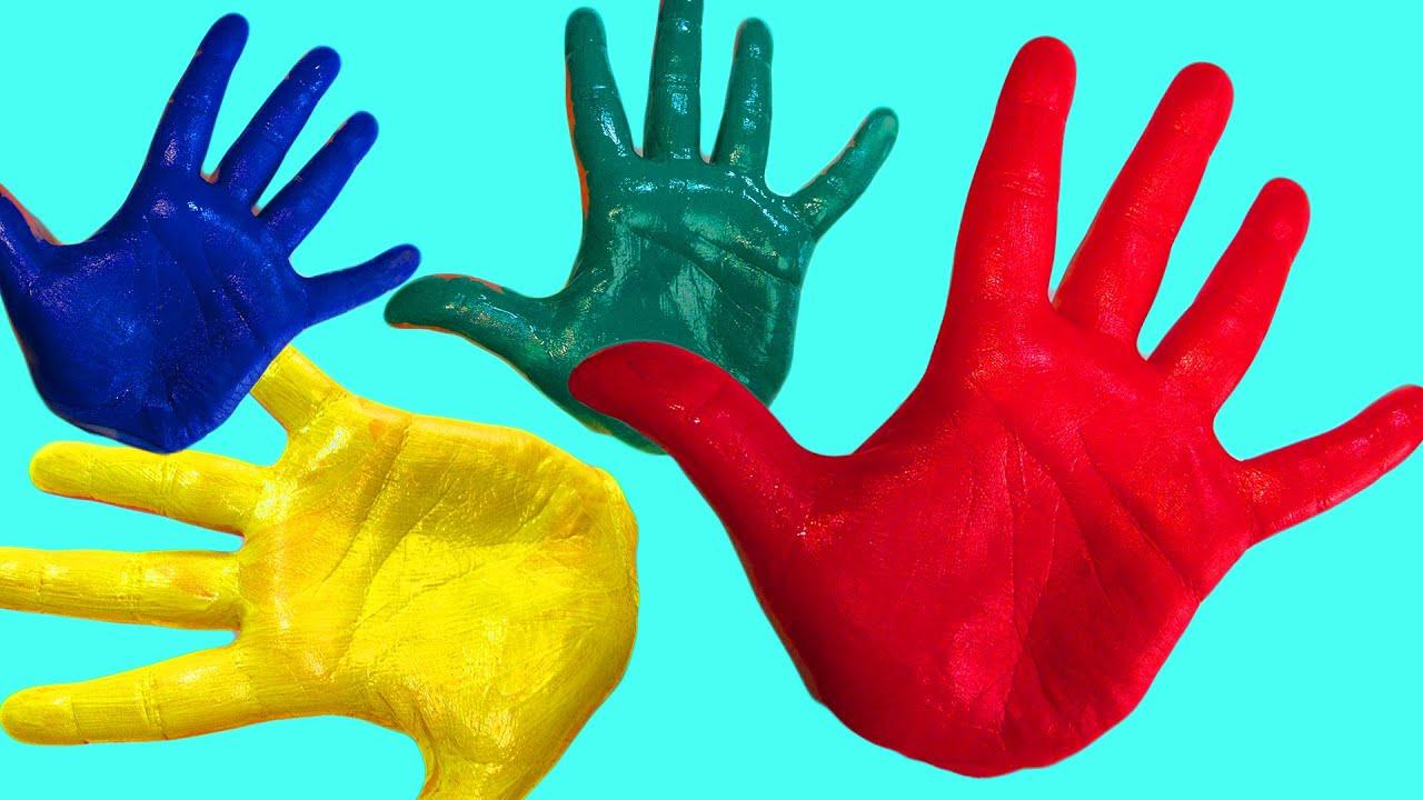 Пальчики видео цвета