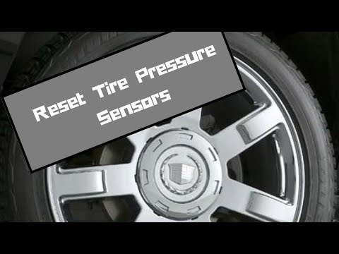 How To Turn Off Tire Pressure Sensor Dash Light Warning