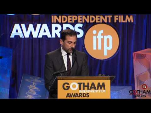 Steve Carell winning an Special Jury Prize Gotham Award (Ensemble Performance) for FOXCATCHER