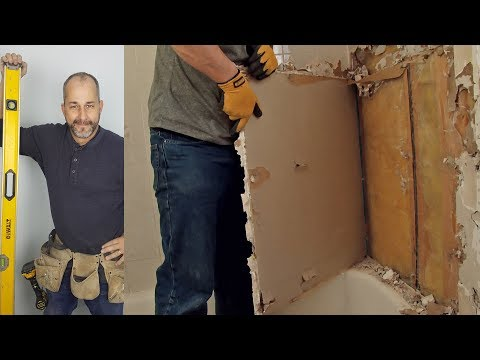 How to Easily Remove Bathtub Shower wall