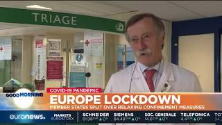 Europe lockdown: member states split over relaxing confinement measures