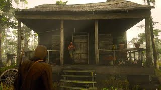 AVOID THIS HOUSE! Arthur Gets, uh oh! Red Dead Redemption 2