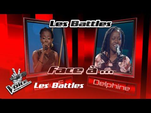 Lady E VS Delphine -C'est Lui  | Les Battles | The Voice Afrique Francophone| Saison 3