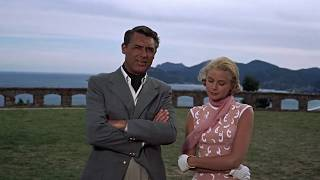 To Catch A Thief (1955)  Grace Kelly & Cary Grant Walking Scene