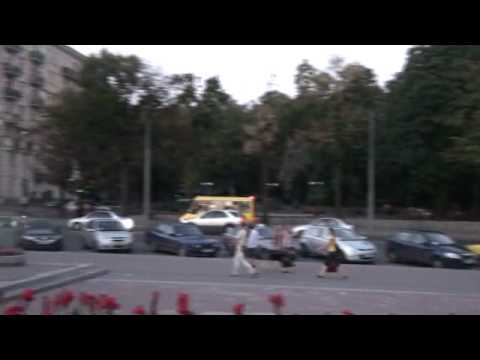 07-15-2010 Part 9 of 15 - Tour of Kharkov - Front of Music Hall.wmv