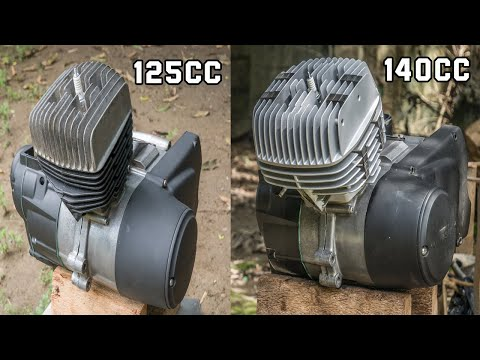 Kawasaki HD3 125CC To 140CC Brutus Conversion