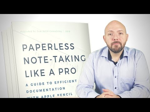 📝📲Paperless Note Taking Like a Pro - NEW eBook