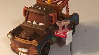 Disney Cars Waiter Mater diecast review