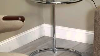 Largent Round End Table - Product Review Video