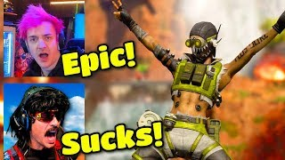 Streamers React to Season 1 Battle Pass for Apex Legends  | Apex Legends Highlights #37