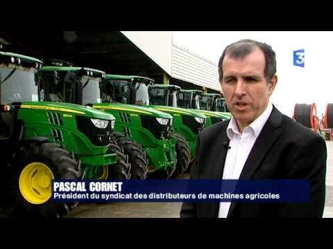 SIA 2015 : La machine agricole à la peine en région centre