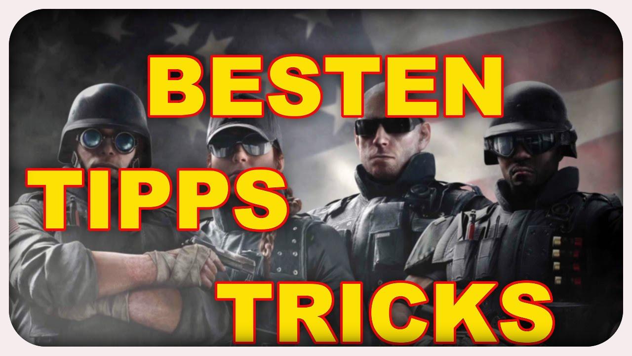 Besten Tipps/Tricks für Rainbow Six Siege (Deutsch/German/PS4)