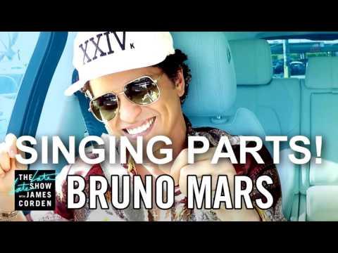 Bruno Mars Carpool Karaoke 'ALL SINGING...